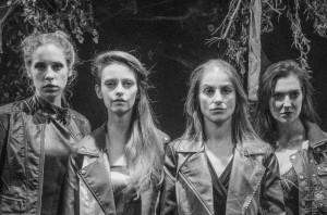 Halie Ecker, Simina Contras, Emily Nichelson, Meghan  Lewis